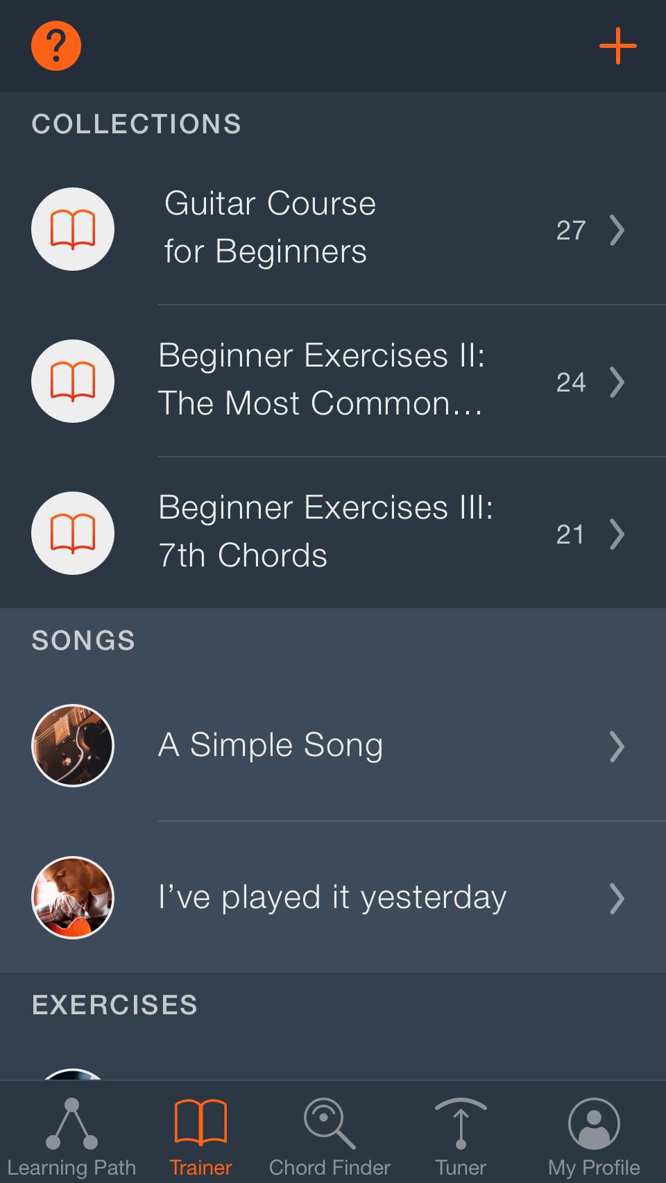 Uberchord App Learn Guitar