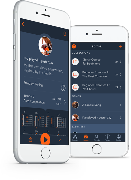 Learn Guitar. Fast. The Uberchord App — Chords, Strumming, Songs.