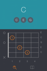 Learning Guitar Chords - Uberchord iPhone App