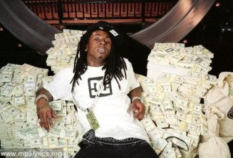 Lil Wayne with Money Cash