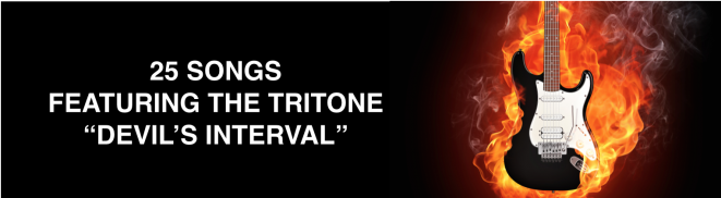 25 Songs with the Tritone