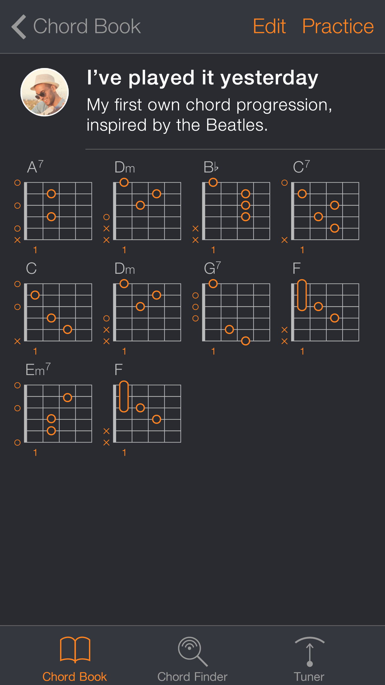 Learn Guitar Chords With Uberchord For Iphone