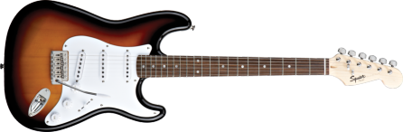 Fender Squier Bullet Strat with Tremelo Guitar