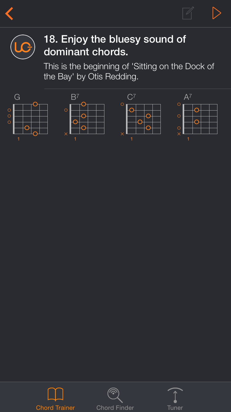 Uberchord App Screenshot 2