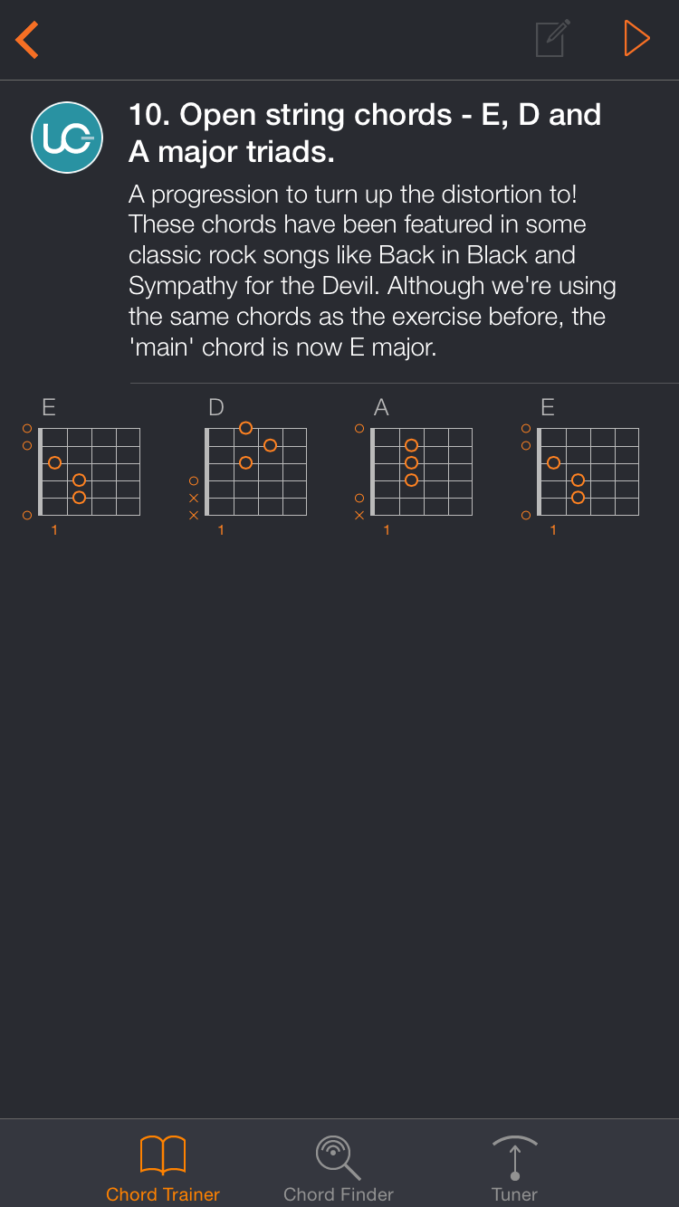 Uberchord App Screenshot 5