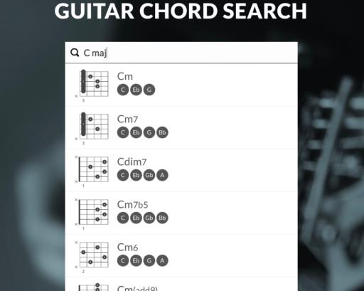 Guitar Chord Finder Uberchord