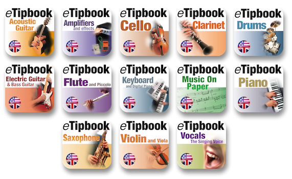 13 eTipbook app icons