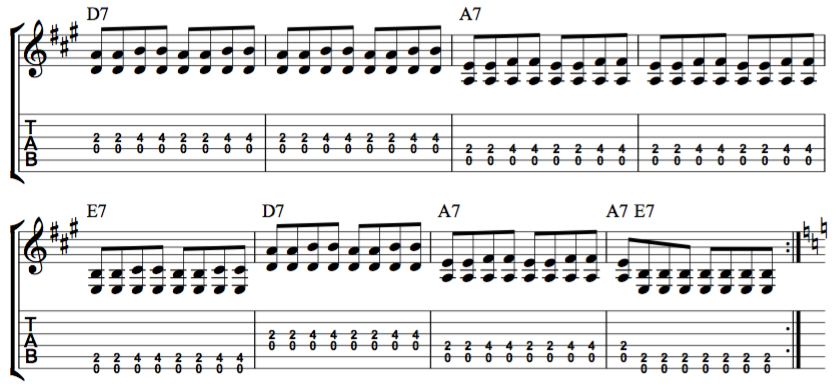 12-bar-blues-with-chord-diagrams-for-beginner-guitar-players-part-2