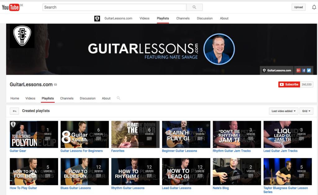 5 Best Youtube Channels For Beginner Guitarists Jamplay Guitar Jamz