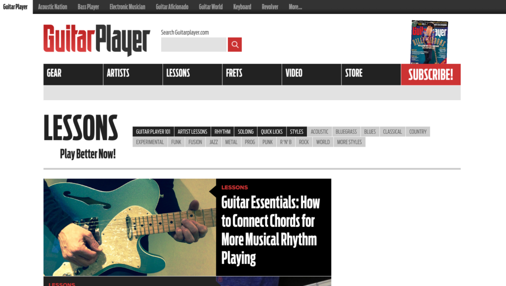 10 Best Music Blogs Every Guitar Player Should Follow