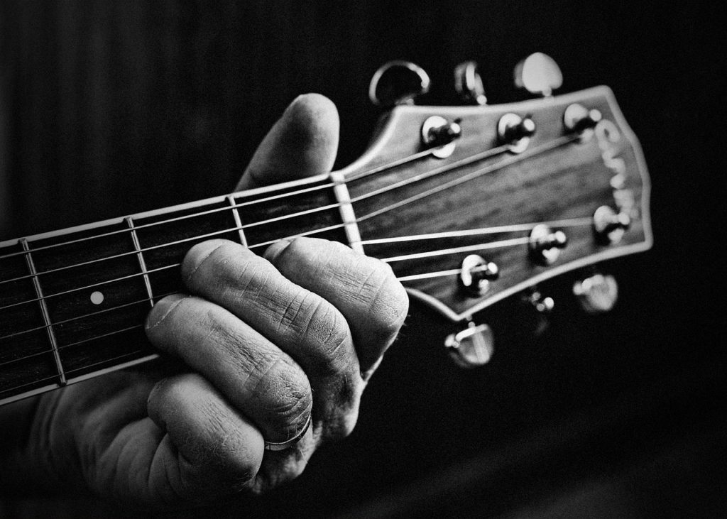 12 Bar Blues With Chord Diagrams For Beginner Guitar Players