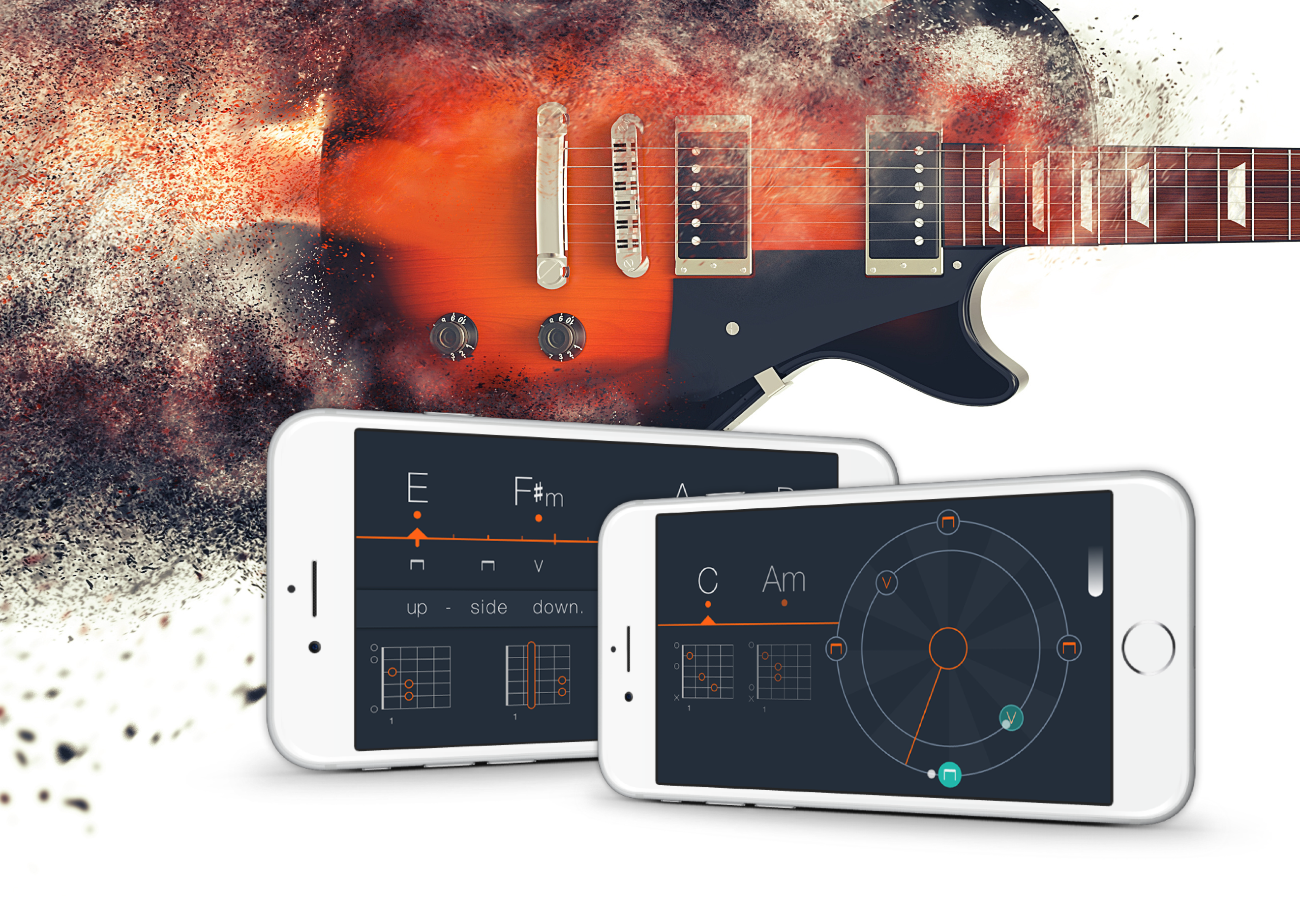 Uberchord 2 Introducing Songs Worlds First Strumming Trainer