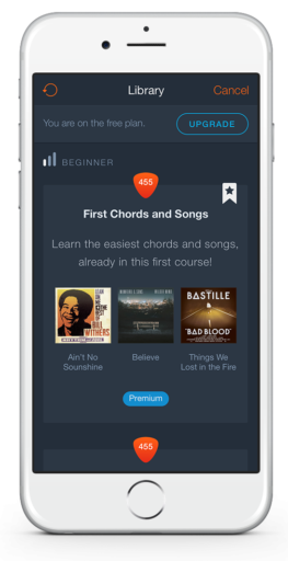 uberchord-lerning-path-list-view-screen-1