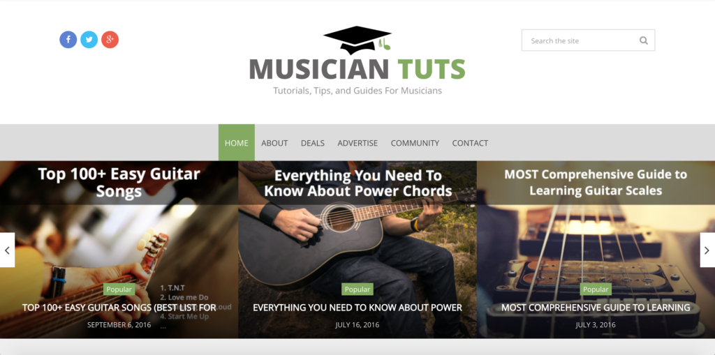 10 Best Music Blogs Every Guitar Player Should Follow: Ultimate