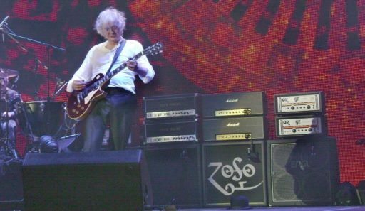Jimmy Page | Live Gear: Gibson Les Paul, Marshall DSL, Dunlop